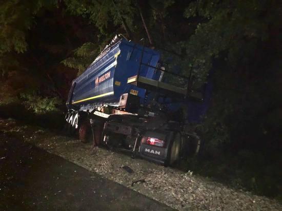 В Геленджике при ДТП с грузовиком MAN погибла женщина