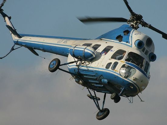 В Якутии разыскивают вертолет Ми-2, совершивший жесткую посадку