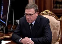 Коронавирус выявили у губернатора Омской области