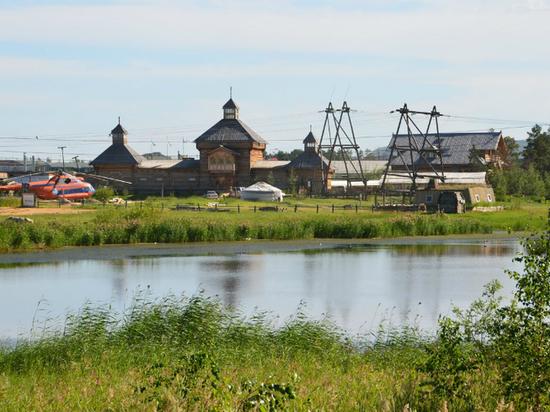 В этнографическом комплексе Якутска произошел пожар