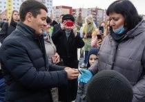 Губернатор ЯНАО вручил общественникам Нового Уренгоя ключи от авто