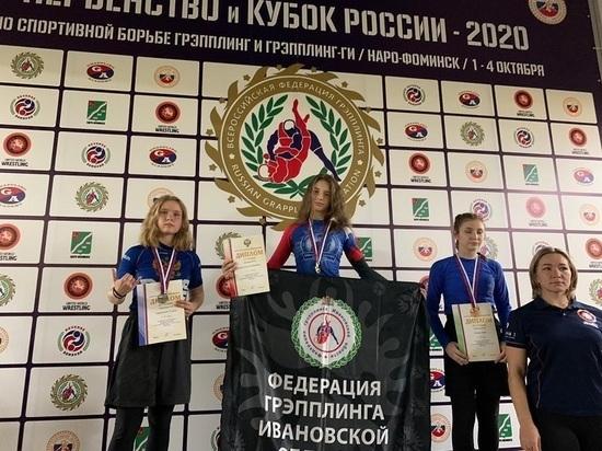 Первенство России по грепплингу принесло ивановским спортсменкам медали