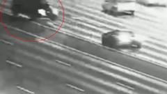 В сети появилось видео с места ДТП на Кутузовском проспекте