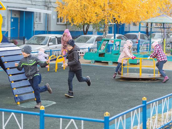 Омский НПЗ создает комфортную городскую среду для детей