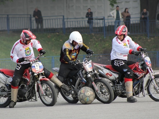 Ставропольские мотоболисты провели всего по одному турниру за сезон
