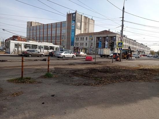 Водители в Иванове недовольны, как реконструируют площадь Победы