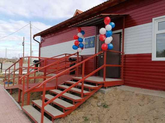 В якутском поселке Усть-Мая открылось новое пожарное депо