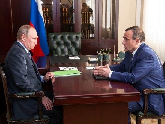 Глава Марий Эл поздравил Владимира Путина с днем рождения