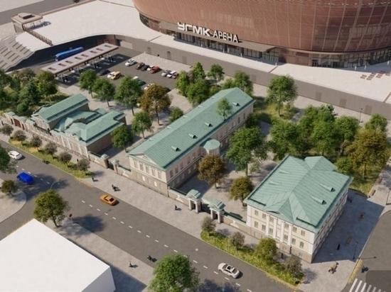 Около строящегося Дворца спорта отреставрируют памятники