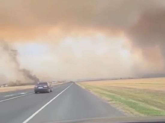 Замглавы Минобороны Булгаков вылетел на место пожара под Рязанью