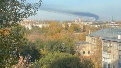 Оренбург периодически затягивает смог