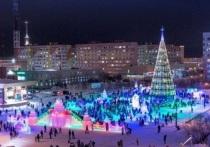 В Новом Уренгое построят «космический» ледовый городок