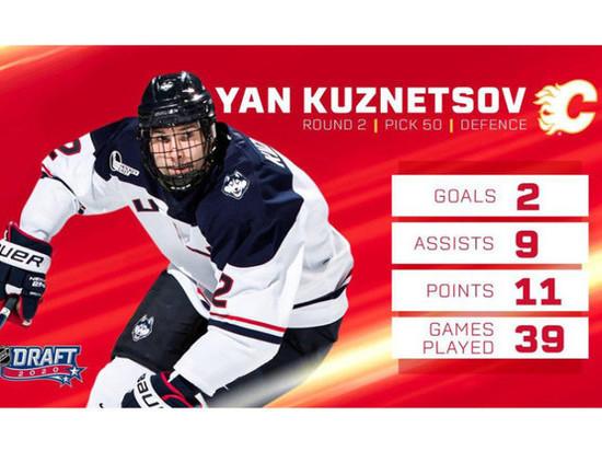 Канадский хоккейный клуб НХЛ задрафтовал спортсмена из Мурманска