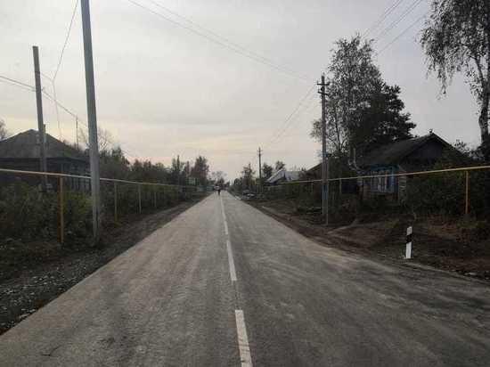 Дорогу построили в Гагинском районе