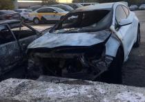 Водитель, устроивший вечеринку с пивом и музыкой в салоне «Жигулей» на Каширском шоссе в ночь на 9 октября, сгорел заживо в машине