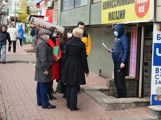 Ковалёва оценила привлекательность городских фасадов