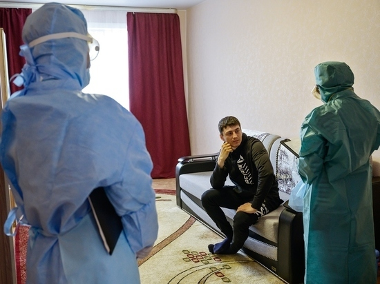 В Якутии за сутки выявлено 110 случаев заражения коронавирусом