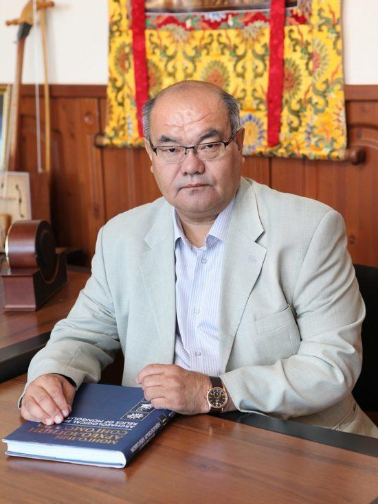 Российского монголоведа в Бурятии поздравляют с юбилеем