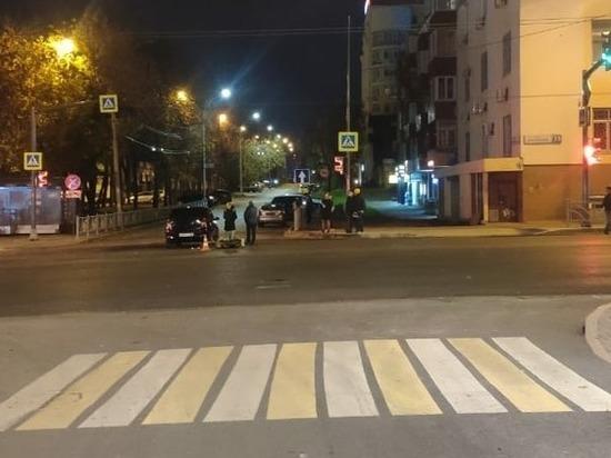 17-летний водитель Кавасаки пострадал в аварии в центре Екатеринбурга