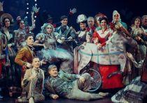 В Вахтанговском театре сыграли старинный водевиль
