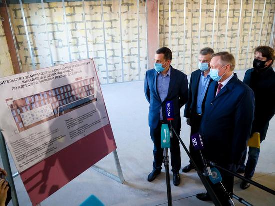 В Кировском районе достраивают центр социальной реабилитации инвалидов