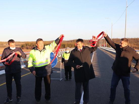 Четыре автомобильных моста на автодороге «Вилюй» открыли в Якутии за неделю