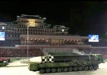 «Эта ракета – чудовище»: западные эксперты оценили военный парад Северной Кореи