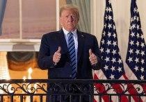Дональд Трамп больше не представляет риск передачи коронавируса окружающим, заявил врач Белого дома на фоне возобновления президентом США предвыборных мероприятий, которые пришлось на днях прервать после того, как у Трампа был обнаружен COVID-19