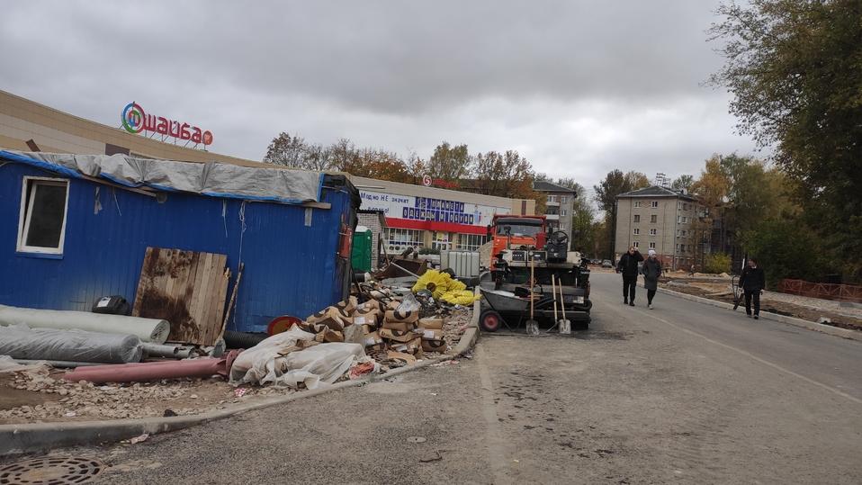 В Пскове готовятся к укладке асфальта на улице Яна Фабрициуса , фото-3
