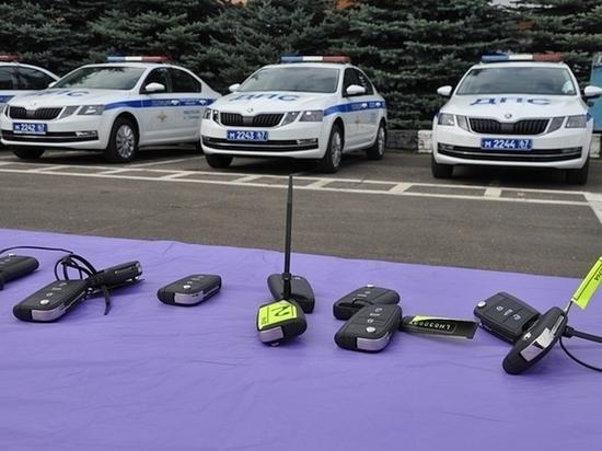 В Смоленской области инспекторы ГИБДД будут ездить на «шкодах»