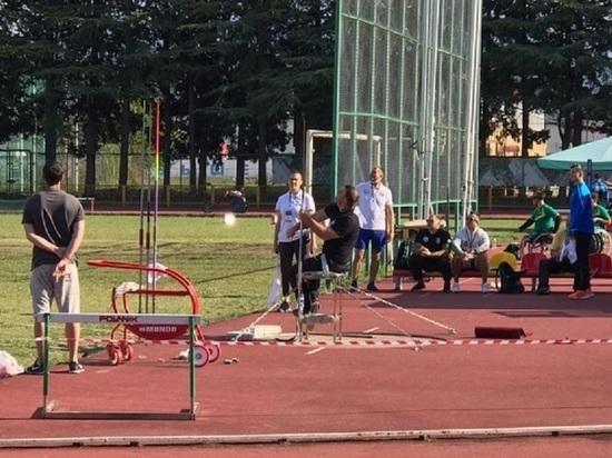 Жительница Волгограда установила рекорд России в метании копья
