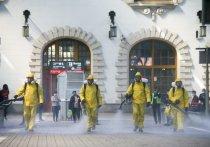 По словам главы Федеральной врачебной палаты Германии Клауса Райнхарда, дезинфекция поверхностей при пандемии коронавируса — это ненужный шаг
