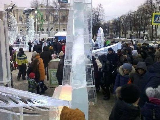 Ледовый городок обойдется Екатеринбургу в 24 млн рублей