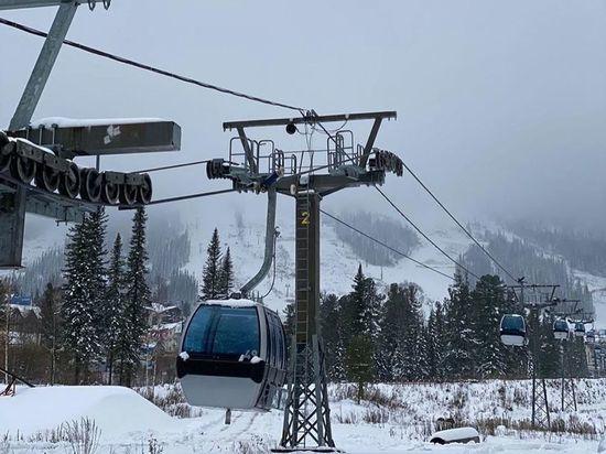Власти Кузбасса обозначили даты открытия горнолыжных курортов