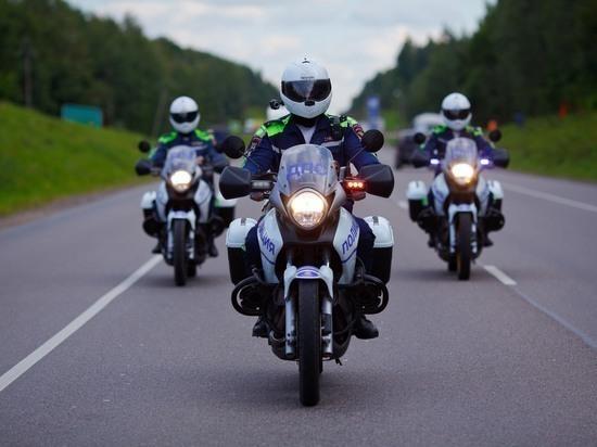 Тульская мотогруппа пресекла 40 нарушений ПДД за неделю