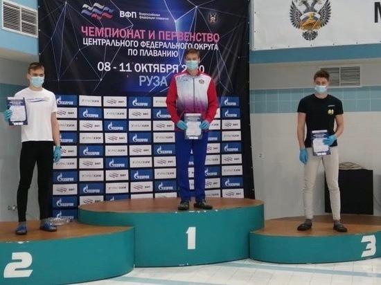 Рязанцы стали призерами чемпионата и Первенства ЦФО по плаванию