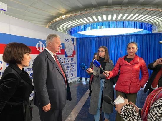 Лидер ФНПР посетил КМВ в День профсоюзного курорта