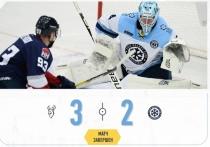 Окончание хоккейного матча «Сибирь» - «Торпедо» было драматичным