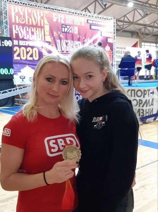 Ковровчанка заняла первое место на Кубке России по классическому пауэрлифтингу