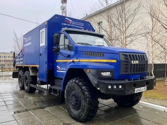 В Ханымей пригнали передвижную мастерскую на базе «Урала»