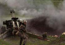 В Минобороны Армении заявили, что 13 октября бои в непризнанной Нагорно-Карабахской республике шли по всей линии соприкосновения