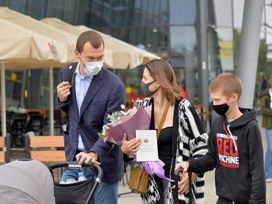 Михаил Дегтярёв и его семья укоренились в Хабаровске