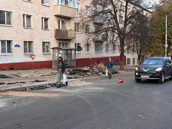 Шапша потребовал завершить ремонт дороги на Салтыкова-Щедрина