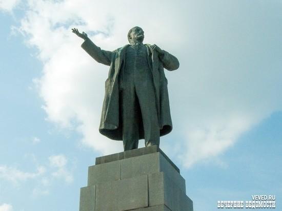 В Екатеринбурге с площади 1905 года могут убрать памятник Ленину