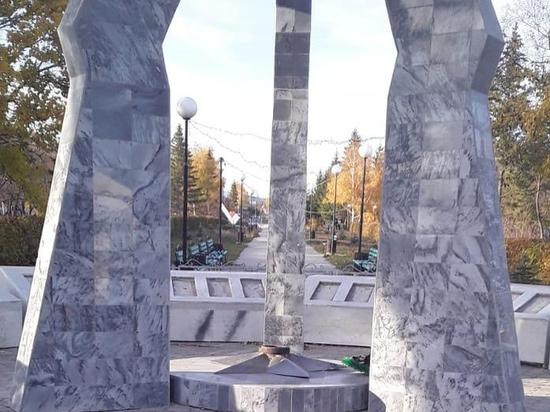 Мемориал памяти в Пономаревке требует срочной очистки