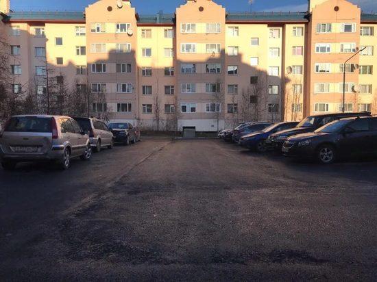 В Салехарде закончили запланированное на 2020 год благоустройство дворов