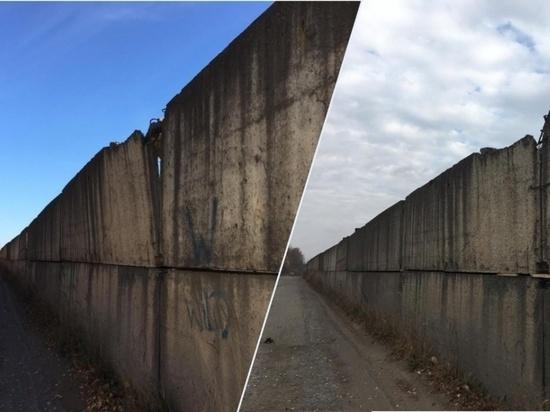 В Лянгасово отремонтировали опасный забор