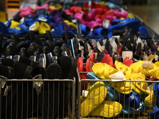 Магазин в Волгограде торговал поддельной обувью