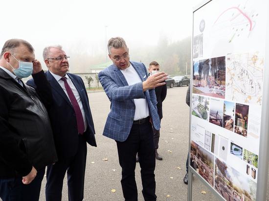 Губернатор поручил детально спланировать новый парк в Новопавловске