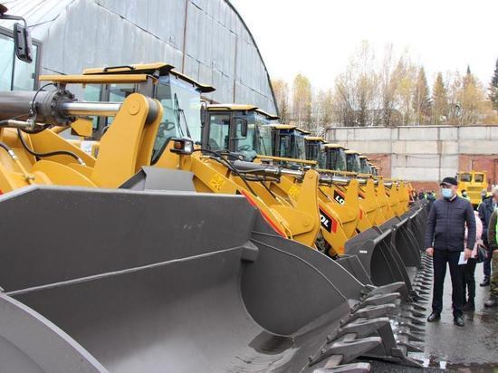 В самый снежный район Кузбасса поступило 18 единиц снегоуборочной техники